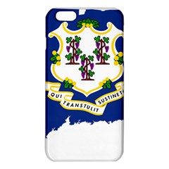 Flag Map Of Connecticut Iphone 6 Plus/6s Plus Tpu Case by abbeyz71