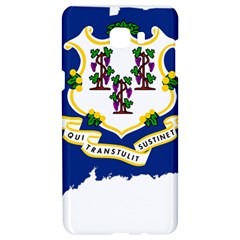 Flag Map Of Connecticut Samsung C9 Pro Hardshell Case  by abbeyz71