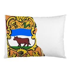 Flag Map Of Delaware Pillow Case by abbeyz71