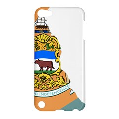 Flag Map Of Delaware Apple Ipod Touch 5 Hardshell Case by abbeyz71