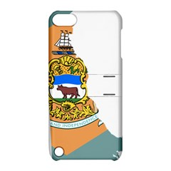 Flag Map Of Delaware Apple Ipod Touch 5 Hardshell Case With Stand by abbeyz71