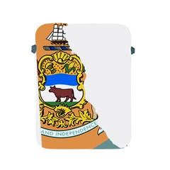 Flag Map Of Delaware Apple Ipad 2/3/4 Protective Soft Cases by abbeyz71
