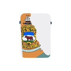 Flag Map Of Delaware Apple Ipad Mini Protective Soft Cases by abbeyz71
