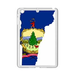 Flag Map Of Vermont Ipad Mini 2 Enamel Coated Cases by abbeyz71