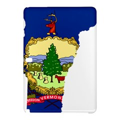 Flag Map Of Vermont Samsung Galaxy Tab Pro 10 1 Hardshell Case by abbeyz71