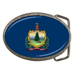 Flag Of Vermont Belt Buckles by abbeyz71