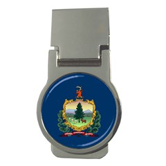 Flag Of Vermont Money Clips (round)  by abbeyz71