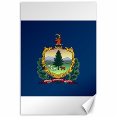 Flag Of Vermont Canvas 24  X 36  by abbeyz71