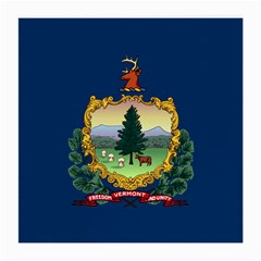Flag Of Vermont Medium Glasses Cloth by abbeyz71