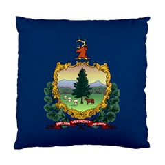 Flag Of Vermont Standard Cushion Case (one Side) by abbeyz71