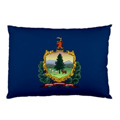 Flag Of Vermont Pillow Case by abbeyz71