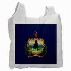 Flag Of Vermont Recycle Bag (one Side) by abbeyz71