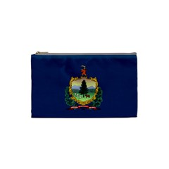 Flag Of Vermont Cosmetic Bag (small) by abbeyz71