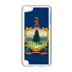 Flag Of Vermont Apple Ipod Touch 5 Case (white) by abbeyz71