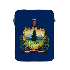 Flag Of Vermont Apple Ipad 2/3/4 Protective Soft Cases by abbeyz71