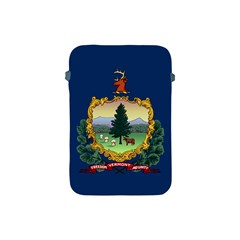 Flag Of Vermont Apple Ipad Mini Protective Soft Cases by abbeyz71