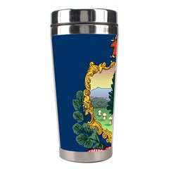 Flag Of Vermont Stainless Steel Travel Tumblers by abbeyz71