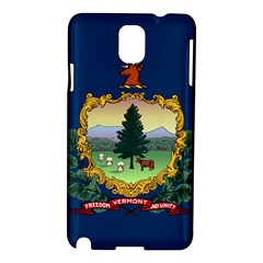 Flag Of Vermont Samsung Galaxy Note 3 N9005 Hardshell Case by abbeyz71