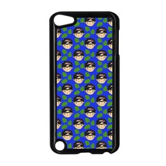 Frida Blue Apple Ipod Touch 5 Case (black) by snowwhitegirl