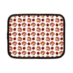 Pasta Pattern Netbook Case (small) by snowwhitegirl