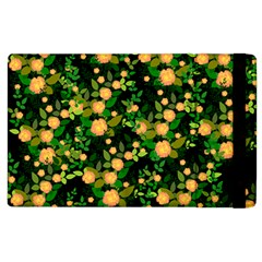 Peach Roses Apple Ipad 3/4 Flip Case