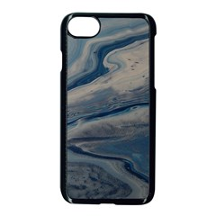 Blue Ice 2 Apple Iphone 8 Seamless Case (black)