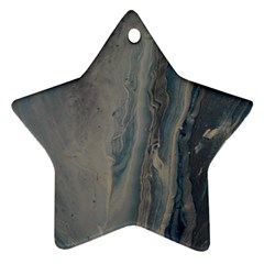 Blue Ice Ornament (star)