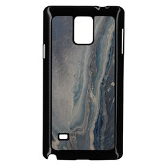 Blue Ice Samsung Galaxy Note 4 Case (black) by WILLBIRDWELL
