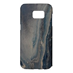 Blue Ice Samsung Galaxy S7 Edge Hardshell Case by WILLBIRDWELL