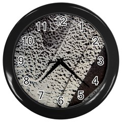 Shadows Wall Clock (black) by WILLBIRDWELL