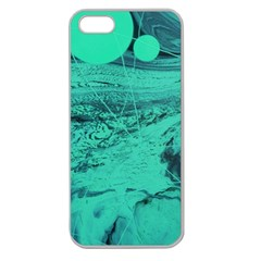 Neon Bubbles 2 Apple Seamless Iphone 5 Case (clear)