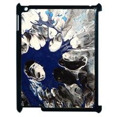 Black And Blue Apple Ipad 2 Case (black)