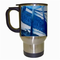 Pulsar Travel Mugs (white) by WILLBIRDWELL
