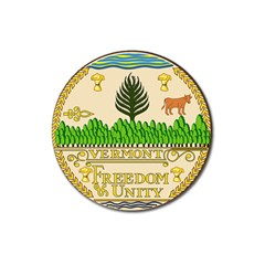 Great Seal Of Vermont Magnet 3  (round) by abbeyz71