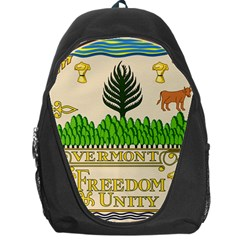 Great Seal Of Vermont Backpack Bag by abbeyz71