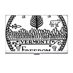 Great Seal Of Vermont Business Card Holder by abbeyz71