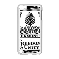 Great Seal Of Vermont Apple Ipod Touch 5 Case (white) by abbeyz71