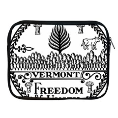 Great Seal Of Vermont Apple Ipad 2/3/4 Zipper Cases by abbeyz71