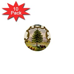 Coat Of Arms Of Vermont 1  Mini Buttons (10 Pack)