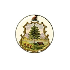 Coat Of Arms Of Vermont Hat Clip Ball Marker by abbeyz71