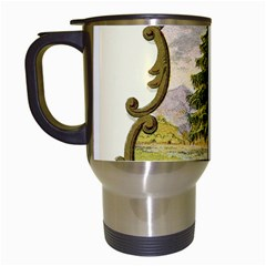 Coat Of Arms Of Vermont Travel Mugs (white) by abbeyz71
