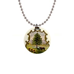Coat Of Arms Of Vermont Button Necklaces by abbeyz71