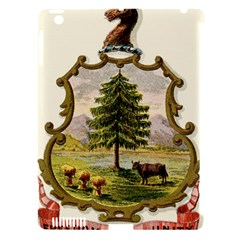 Coat Of Arms Of Vermont Apple Ipad 3/4 Hardshell Case (compatible With Smart Cover) by abbeyz71