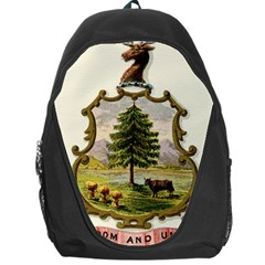 Coat Of Arms Of Vermont Backpack Bag by abbeyz71