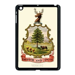 Coat Of Arms Of Vermont Apple Ipad Mini Case (black) by abbeyz71