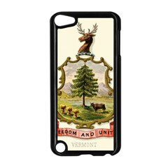 Coat Of Arms Of Vermont Apple Ipod Touch 5 Case (black) by abbeyz71