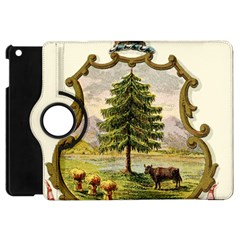 Coat Of Arms Of Vermont Apple Ipad Mini Flip 360 Case by abbeyz71