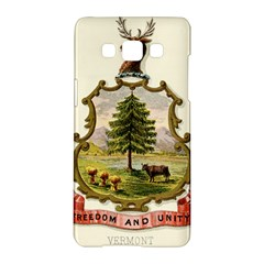 Coat Of Arms Of Vermont Samsung Galaxy A5 Hardshell Case  by abbeyz71