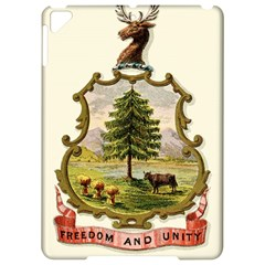 Coat Of Arms Of Vermont Apple Ipad Pro 9 7   Hardshell Case
