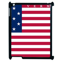 Flag Of Vermont, 1804 1837 Apple Ipad 2 Case (black)